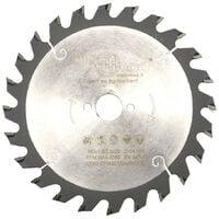 Lame de scie circulaire portative HM débit D. 160 x Al. 20 x ép. 2,5/1,6 mm x Z24 Alt pour bois - Diamwood