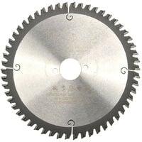 Lame de scie circulaire portative HM finition D. 190 x Al. 30 x ép. 2,8/2,0 mm x Z54 TP Neg pour Alu/bois - Diamwood