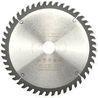 Lame de scie circulaire portative HM universelle D. 235 x Al. 30 x ép. 2,8/1,8 mm x Z48 Alt pour bois - Diamwood