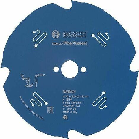 Lame de scie circulaire pour fibre-ciment, 165 x 20 mm