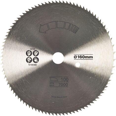 Lame de scie circulaire Stanley - 160 mm