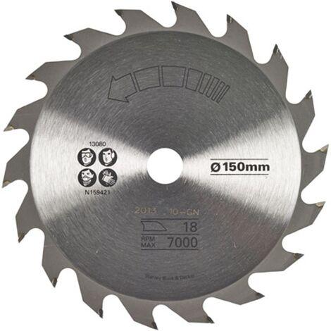 Lame de scie circulaire Stanley - 'TCT' 150 mm