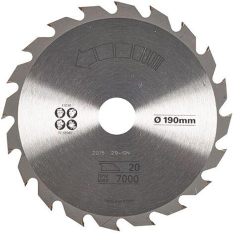 Lame de scie circulaire Stanley - 'TCT' 190 mm