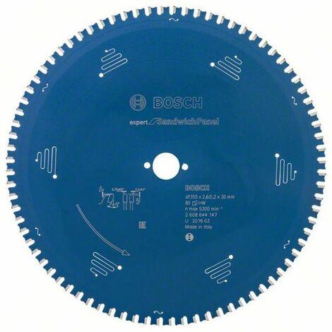 Lame de scie circulaire.Expert SP 235x2,2x30mm Z50 TF Bosch