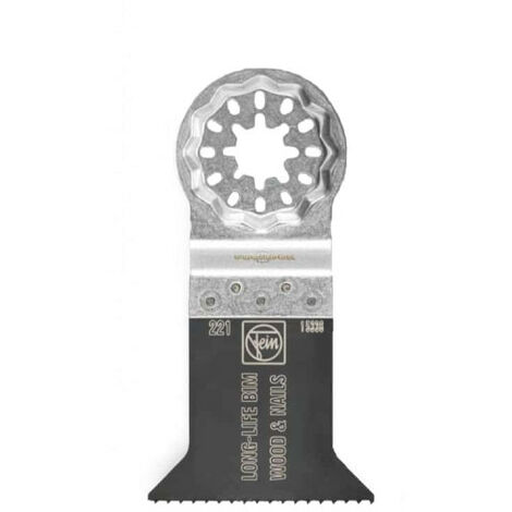 Lame de scie FEIN - E-Cut long-life BIM Starlock 50x50mm - 63502221250