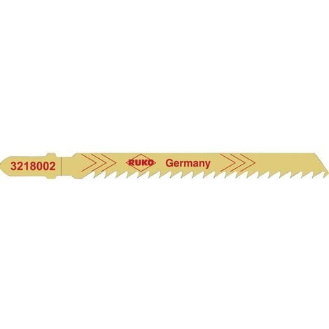 Lame de scie HCS 100 mm RUKO 3228002 5 pc(s)