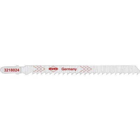 Lame de scie HCS 132 mm RUKO 3228024 5 pc(s)