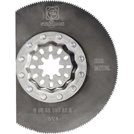 Lame de scie métal segment HSS Starlock FEIN - Ø85 - 63502106210