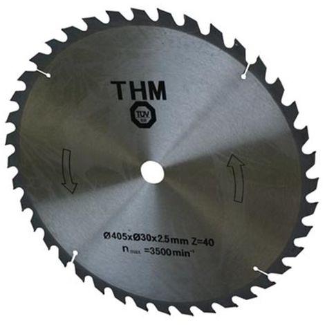Lame de scie - pour bois - 400 x 30 mm - 36t - pour vl2001