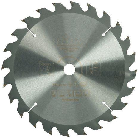 Lame de scie pour bois de construction 190 x 16 mm / 24 dents