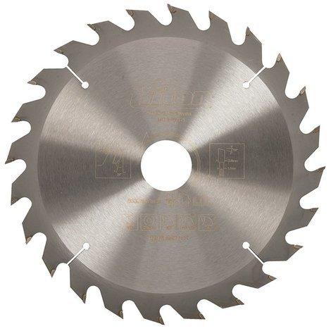 Lame de scie pour bois de construction - 190 x 30mm / 24 dents