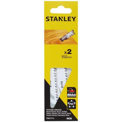 Lame de scie réciproque Stanley - Bois/plastique 152 mm