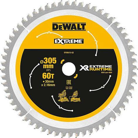 Lame de scie sabre DeWalt DT99575 diam. 305 x 30 mm avec 60 dents