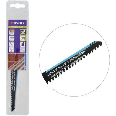 Lame de scie sabre HCS Fibrociment TIVOLY L150mm coupe puissante Matières plastiques jusqu'à 10cm épaisseur
