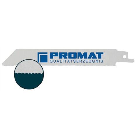 """main image of """"Lame de scie sabre Longueur 150 mm Largeur 19 mm métal Graduation de dent TPI 24 1 mm fraisée, sertie"""""""