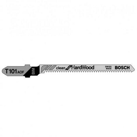 Lame de scie sauteuse Clean pour bois dur BOSCH - plusieurs modèles disponibles