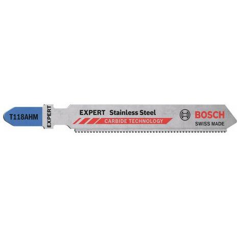 """main image of """"Bosch Accessories 2608900561 LAME de scie sauteuse EXPERT « Stainless Steel » T 118 AHM, 3 pièces 3 pc(s)"""""""