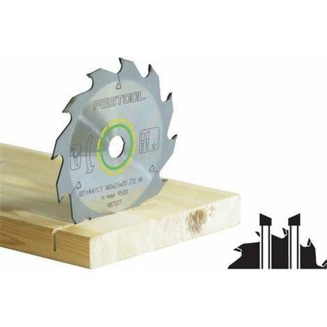 Lame de scie standard FESTOOL - bois - Ø260 - 24 dents - 500647