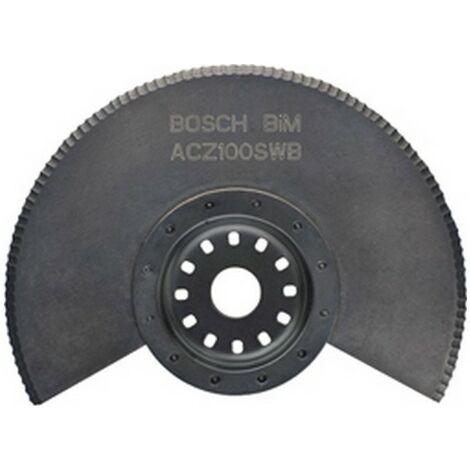 Lame de scie Starlock BOSCH ACZ 85 EB - Ø85mm - bois et métal non trempé - 2608661636
