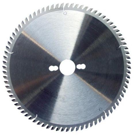 Lame de scies circulaires carbure mélaminé, diamètre 250 mm, 80 dents