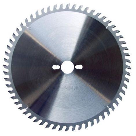 Lame de scies circulaires carbure pour aluminium ou PVC, diamètre 260 mm, 80 dents
