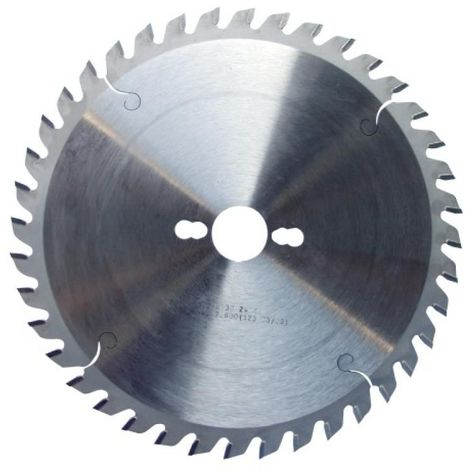 Lame de scies circulaires carbure universelle, diamètre 250 mm, 40 dents