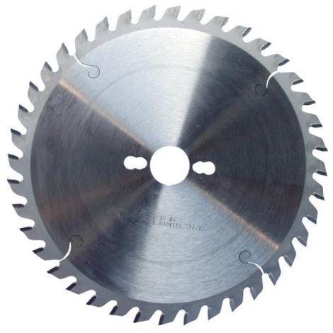 Lame de scies circulaires carbure universelle, diamètre 250 mm, 60 dents