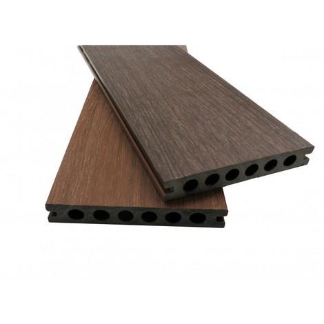 Lame de terrasse en composite alvéolaire coextrudé biface Supra