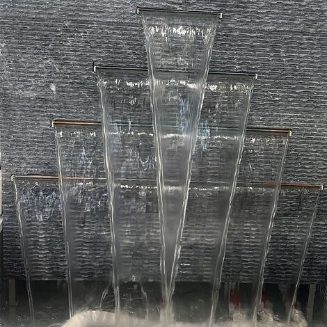 Lame d'eau 600 x 150mm - cascade pour piscine