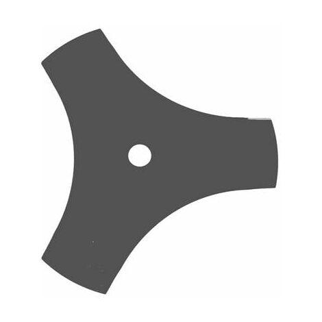 Lame Débroussailleuse 3 Dents Évidées 255mm