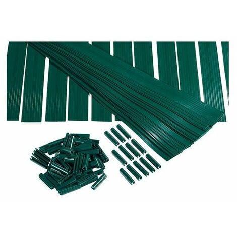 Lame d'occultation hauteur 1m20 vert kit lixo plus