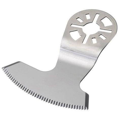 Lame faucille de scie oscillante universelle Inox 60 x 1,5 mm spécial vitrage - Joint butylène - ZOU00201 - Labor
