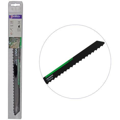 Lame HCS de scie sabre Elagage L230mm - coupe branches jusqu'à 15cm épaisseur - Haute Qualité HSS- TIVOLY