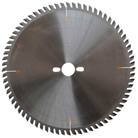 Lame HM micro-grain mise à format 250 x Al. 30 mm. x 60 dents alt. pour bois - GOLD3.2503060 - Leman