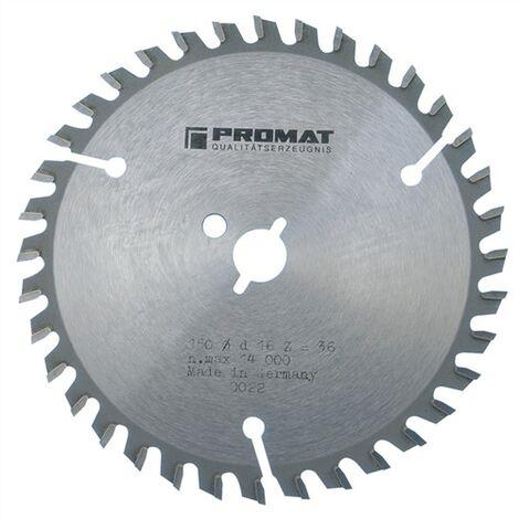 Lame pour scie circulaire de précision Ø extérieur 230 mm Nombre de dents 64 WZ Perçage 30 mm Largeur de coupe 3,0 mm carbure
