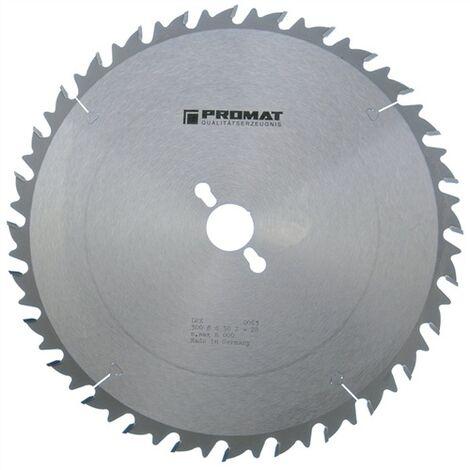 Lame pour scie circulaire de précision Ø extérieur 315 mm Nombre de dents 28 WZ Perçage 30 mm Largeur de coupe 3,2 mm carbure