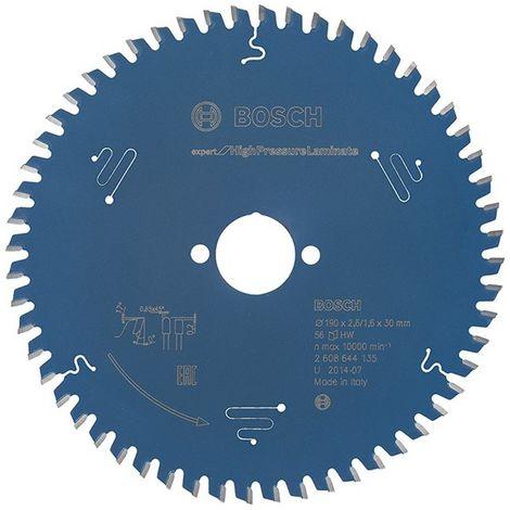 Lame pour scie circulaire Ø extérieur 160 mm Nombre de dents 48 TR perçage 20 mm Largeur de coupe 2,2 mm carbure