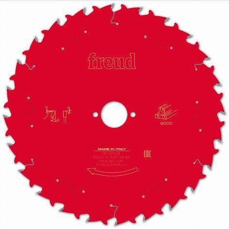Lame pour scie circulaire portative FREUD - Ø250 2,8/1,8 AL30 Z24 BA 20° - F03FS09774 -FR23W001T