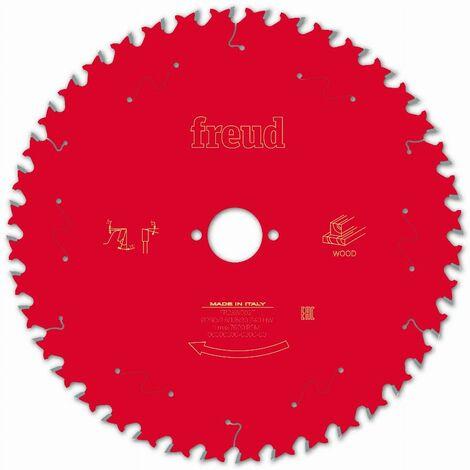 Lame pour scie circulaire portative FREUD - Ø250 2,8/1,8 AL30 Z40 BA 15° - F03FS09775 -FR23W002T
