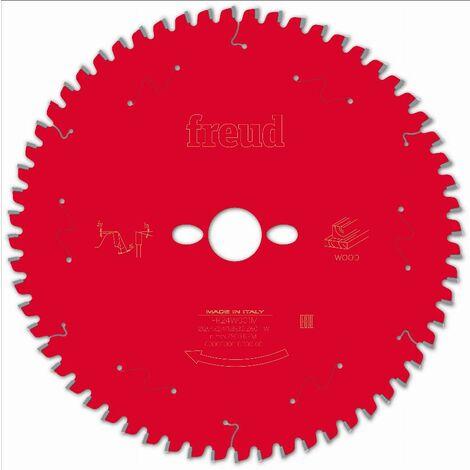 Lame pour scie circulaire portative FREUD - Ø254 2,4/1,8 AL30 Z60 BA -5° - F03FS09755 -FR24W001M