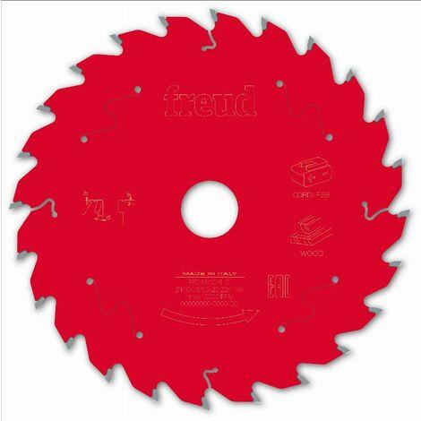 Lame pour scie circulaire portative sans fil FREUD - Ø140 1,8/1,3 AL20 Z24 BA 15° - F03FS10045 -FR04W004HC