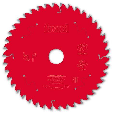 Lame pour scie circulaire portative sans fil FREUD - Ø140 1,8/1,3 AL20 Z42 BA 5° - F03FS10046 -FR04W005HC
