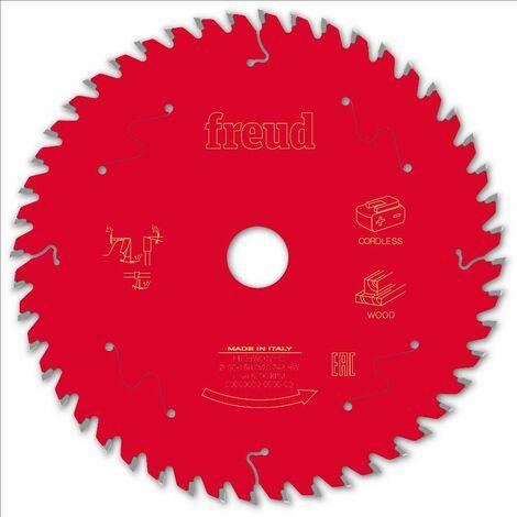 Lame pour scie circulaire portative sans fil FREUD - Ø160 1,45/1 AL20 Z48 BA 10° - F03FS10050 -FR05W017HC