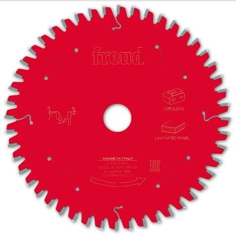 Lame pour scie circulaire portative sans fil FREUD - Ø160 1,8/1,2 AL20 Z48 BA -5° - F03FS10075 -FR06L003HC