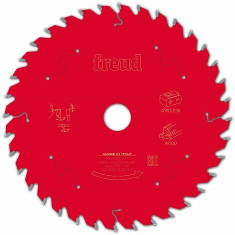 Lame pour scie circulaire portative sans fil FREUD - Ø165 1,45/1 AL20 Z36 BA 15° - F03FS10053 -FR07W011HC