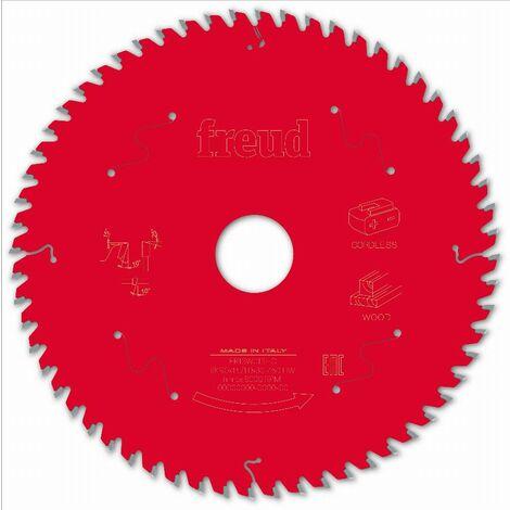 Lame pour scie circulaire portative sans fil FREUD - Ø190 1,45/1 AL30 Z60 BA 10° - F03FS10060 -FR13W013HC