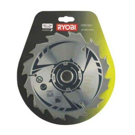 Lame pour scie circulaire RYOBI 170mm 12 dents CSB170A1