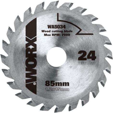 Lame pour scie circulaire Worx 'WA5034' 85 mm