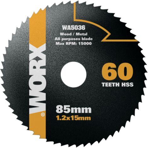Lame pour scie circulaire Worx 'WA5036' 85 mm