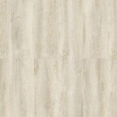 Lame PVC à clipser - boite de 5 lames - 1,79m² - Starfloor Click 55 - imitation parquet Antik Oak Blanc - Tarkett